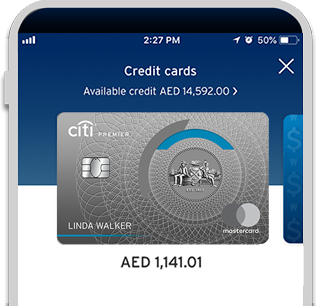 Avail Citi Premier Credit Card offer from Citi Mobile App