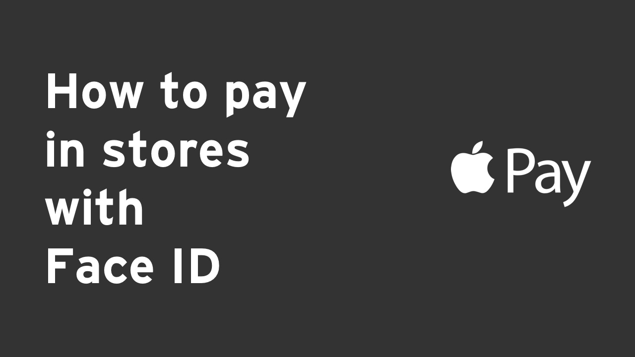 How to pay - Face ID