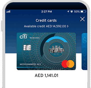 Get everything at a glance with the Citi Mobile® App