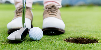Citibank customer playing a round of golf received as complimentary reward