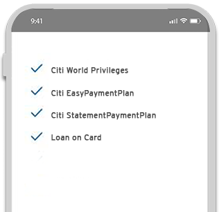 Get powerful features on demand with Citi Mobile® App