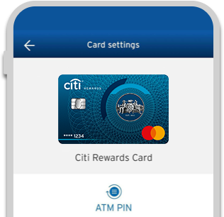 Reset your ATM Pin