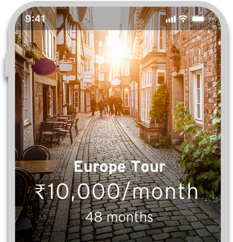 Smartphone showcasing benefits of Installment payment with Citi Paylite with Cash Back Card