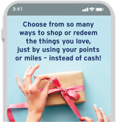 Shop or redeem the things you love with Citi ThankYou Rewards