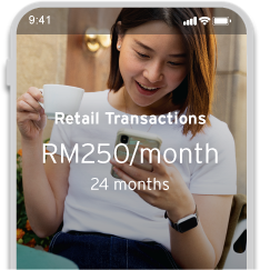 Convert your retail transactions into monthly instalments with Citi PayLite