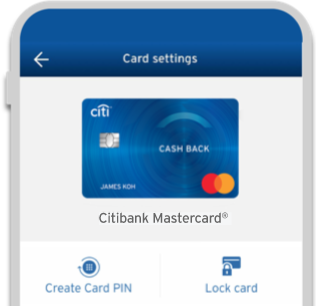 Conveniently Lock and unlock your card