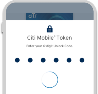 Citi Mobile Token
