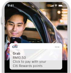 Pay first, then offset your purchases with your points or miles after