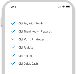 Citibank Clear Card - Powerful features on demand