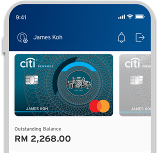Everything at a glance with Citi Rewards Card