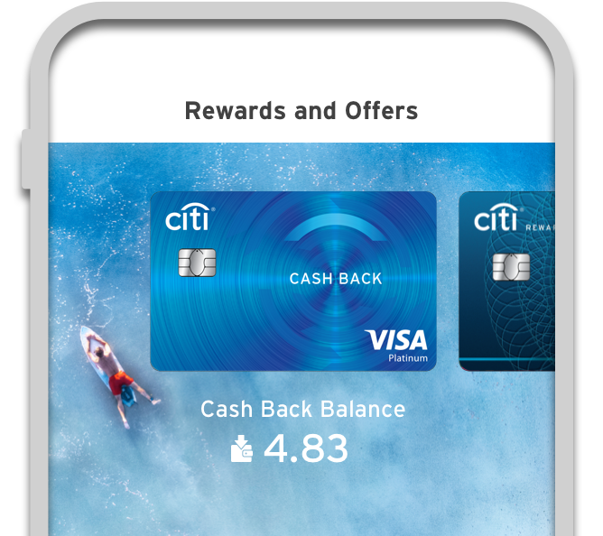 See your Cash Back balance