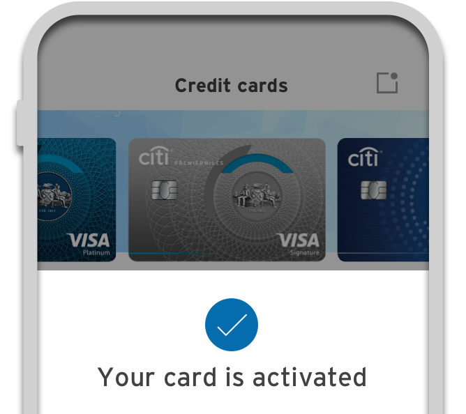 Activate a new card
