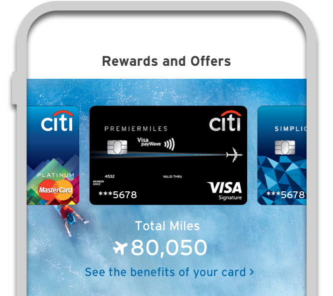 See Your Citi Miles Balance