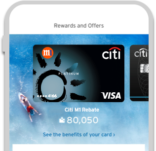 Citi Mobile® App - Track your Citi M1 rebates