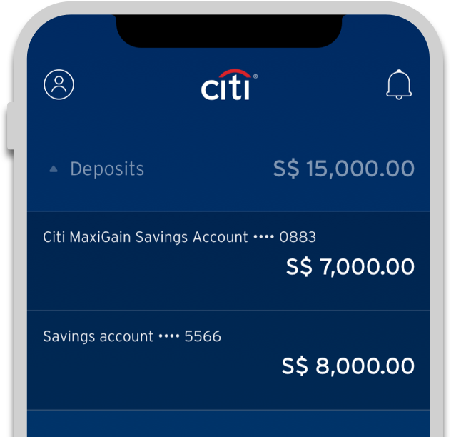 Personalize the Dashboard of the Citi Mobile App