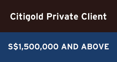 Offers on Citigold Private Client