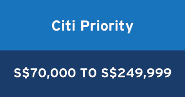 Offers on Citi priority