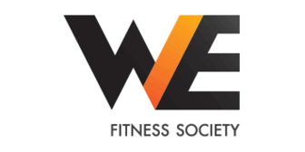 WE Fitness Logo, which is a partner brand of Citi Lazada credit card