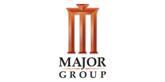 Major Group Logo, which is a partner store of Citi Lazada credit card