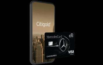 Citi Mercedes + Citigold