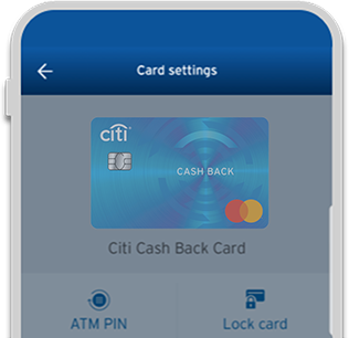 Create ATM PIN easily with Citi Mobile App