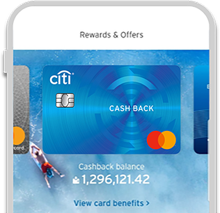 View your cash back balance & offers
